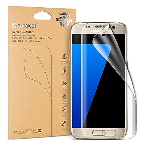 Galaxy S7 Protection écran [Pas en Verre Trempé], Arbalest 4th. Gen.HD Clair Film [Easy Applied] Forte Adsorption Protecteur D'écran pour Samsung Galaxy S7 [Pas pour Galaxy S7 Edge] - [2-Pack] Garantie à vie
