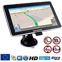 DBPower® Navigateur 7 pouses GPS special poids lourds camion version HD