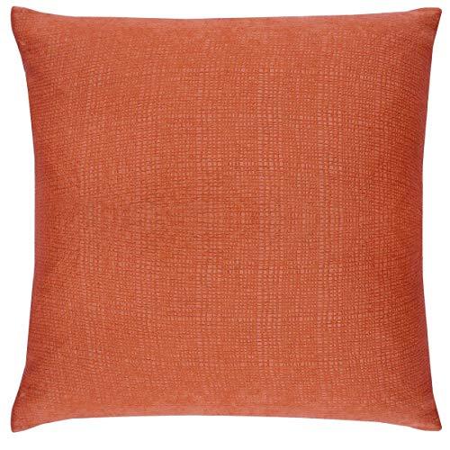 Enhanced Living Housses de Coussin, Orange, 43 x 43 cm