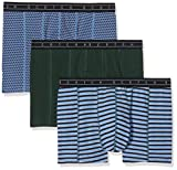 Scotch & Soda Herren Classic Boxer Short in solid, Print and Yarn-Dyed Stripe Boxershorts, Mehrfarbig (Combo C 0219), Medium (Herstellergröße: M)
