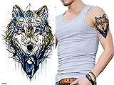 Wolf Tattoo TH-202 ausdrucksvolles Tattoo
