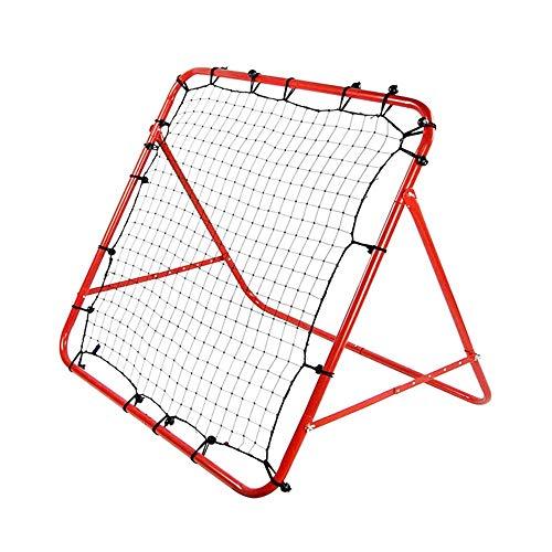 Quadratischer Fußball-Torrahmen der Kinder Roter Hinterhof-Fußball-Netz Dauerhafter und flexibler Studenten-Fußball-Ziel für Kinderjungen und -mädchen Fußballtor ( Farbe : C1 , Größe : 100*100cm ) -