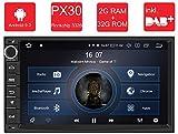 M.I.C.® AU7-Lite Android 9 Autoradio Radio Navigationssystem:DAB+ digitalradio Bluetooth WLAN 7 Zoll Bildschirm 2G+32G USB sd GPS 2 DIN universal Tuning Gerät für VW Toyota KIA Nissan Hyundai usw.
