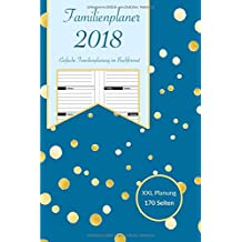 Familienplaner 2018: Mein Familienplaner Buchkalender für im kompakten Taschenbuchformat