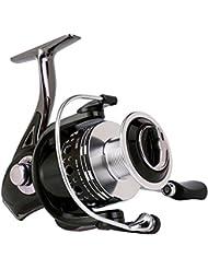 Gosccess Moulinet de pêche en mer Spinning Moulinet CNC Gauche / Droite Interchangeable 11 + 1 BB Roulements à billes pêche moulinet