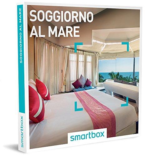 Smartbox - soggiorno al mare - 155 soggiorni di gusto o benessere in hotel 3*, 4*, 5*, relais o ville di charme, cofanetto regalo