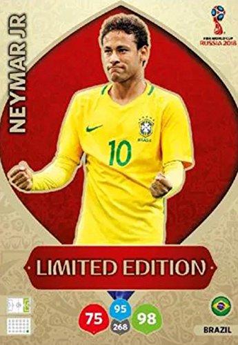 Panini Adrenalyn XL WM 2018 Russland - Neymar Brasilien Karte limited Edition (Limited Wm-karten Edition)