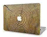 KECC MacBook Pro 13 Pouces (CD Lecteur) Coque Rigide Case Cover pour MacBook Pro 13.3 Coque {A1278} (Bois Fissuré)