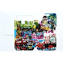 Flip Pu Leather Carcasa Cover para Funda Woxter Zielo Zx-840 Hd Funda LD