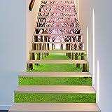 Wandaufkleber Wandtattoo Wohnzimmergute Nutzung Von Schönen Nagel Shop Treppen Treppen Furnier Mini 2018 Dekoration Kreative Kindergarten Neue Selbstklebende Art, 100 * 1