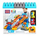 Mattel Mega Bloks First Builders CXN74 Fast Tracks Buildables - Racing Team