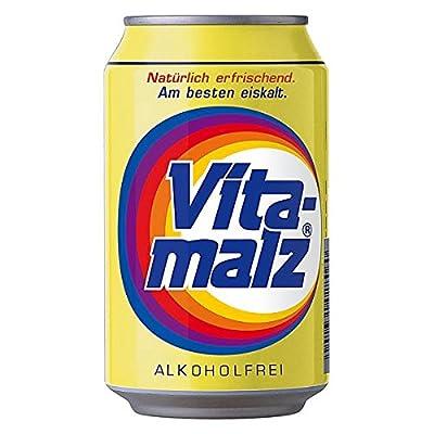 24 Dosen a 0,33L Orginal Vitamalz Malzbier Alkoholfrei Vita Malz inc. Pfand