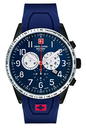 9875sam By Blue Atm Grovana Alpine Herrenuhr Chrono Swiss 10 7082 Military zMqpSGUVL