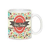 Christmas Mugs/Gift - AllUPrints Merry Christmas Everyone White Coffee Mug - 11 oz