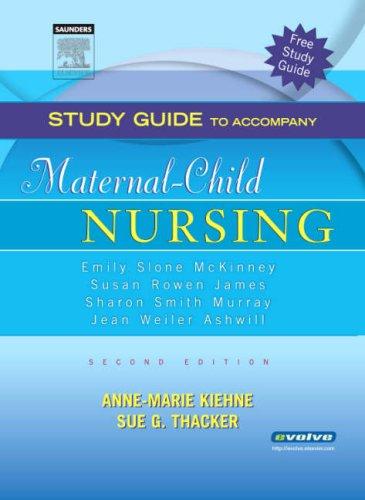 Maternal-child Nursing: Study Guide PDF Books