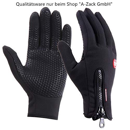 Bekleidung OZERO Thermo HandschuheLeder Warme Winter Handschuhe zum Laufen1 Paar