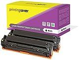 2X Schwarz Toner Kompatibel für Canon i-SENSYS LBP-8030, LBP-8050CN, LBP-8050, LBP-8030CN, LBP-5050, LBP-5050N, MF-8030CN, MF-8040CN, MF-8050CN, MF-8080CW Drucker