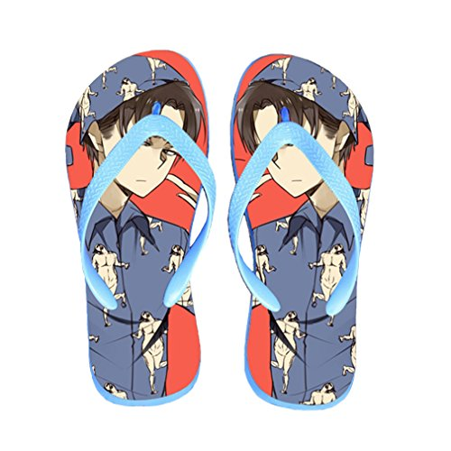 Bromeo Attack on Titan Anime Unisexe Flip Flops Tongs 196