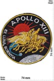 Parches - Apollo 13 - Apollo XIII -Industria aeroespacial - Apollo - Parche Termoadhesivos Bordado Apliques - Patch