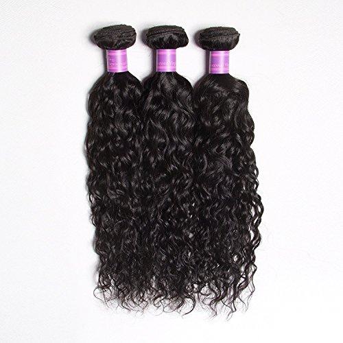 2016 New Best 7 A Cheveux Vierges brésiliens l'eau Wave 3 Chaise longue Transat Bresilienne Rosa tissage Bouclé Cheveux Humains humide et ondulée cheveux vierges brésiliens