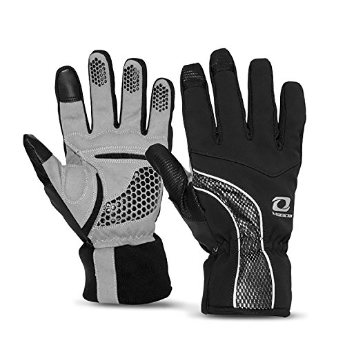 4Ucycling Warm Thermo Fleece Gloves Touchscreen Touch Fahrrad Handschuhe Radsport Handschuh Radhandschuhe