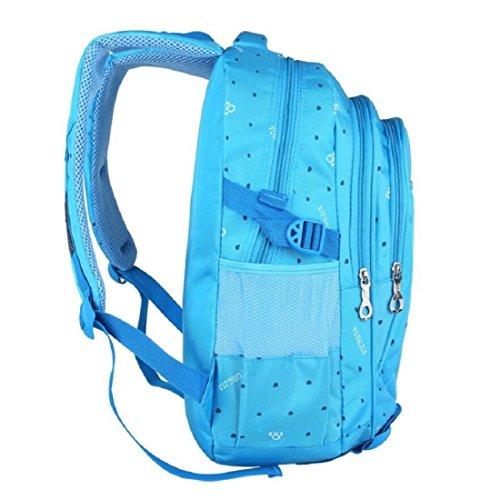 Z&N 20-25L KapazitäT Leichte Kinder Tasche LäSsiger Wasserdichter Rucksack Verwendbar FüR Schule Im Freien Wandernd Sport Bergsteigen Reiten ReisegepäCk TäGliche Tasche B
