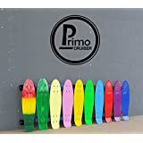 "Primo Cruiser - Penny Skateboard Style - Retro Cruiser Plastic Skateboard 22"" X 6"" Available In over 20 Colours And Transparent Colours"