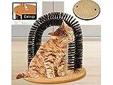Trendi Arche de massage grattage toilettage pour chats et chatons