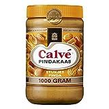 Calve Pindakaas Erdnussbutter Crunchy ( met stukjes noot) 1 Kg