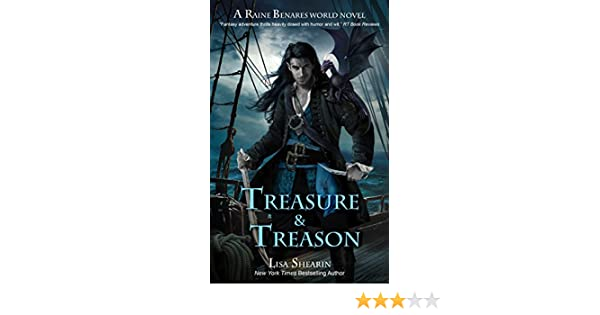 Treasure Treason A Raine Benares World Novel Book 8 English