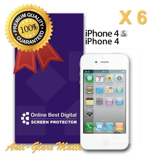 OnlineBestDigital - Apple iPhone 4S / iPhone 4 Anti-rayures Case Protection d'écran / Guard / Film / Foil / Couverture - Confidentialité Anti Spy (Pack de 1) Anti Glare / Anti Fingerprint / Mat