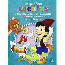 Pack: El Flautista De Hamelín, Los Músicos De Bremen, El Libro De La Selva Y Pinocho (Pequeños Cuentos)