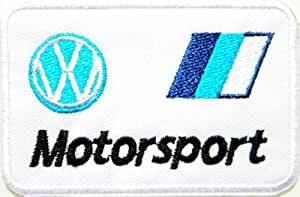 VW Volkswagen Motorsport Logo Jacket Polo T shirt Ecusson brode Patch Sew Iron on
