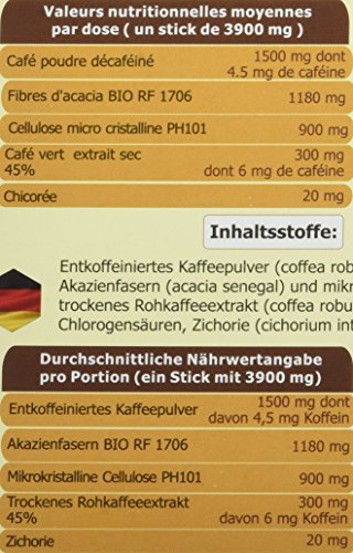 Sobres de cafe para adelgazar