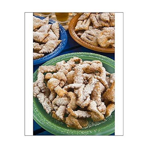 robertharding 10x8 Print of Crostoli (Grostoli) (Sweet fritters), Italian Carnival cakes, Veneto, Italy (3627100)