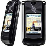 Motorola RAZR2 V9 UMTS - Teléfono móvil (multibanda, Bluetooth, conector USB, ranura para tarjeta microSD), color negro