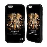 Head Case Designs Offizielle Assassin's Creed Gold Schilling Halskette Verband Logo Kunst Hybrid Hülle für iPhone 6 Plus/iPhone 6s Plus