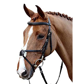 HKM Horse Bridle Mexican Style with Lambskin Padding 19