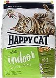 Happy Cat Indoor Adult Weide-Lamm, 1er Pack (1 x 4 kg)