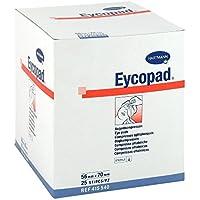 Eycopad Augenkompressen 56x70 mm steril, 25 St preisvergleich bei billige-tabletten.eu