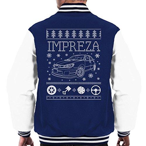 subaru-impreza-christmas-knit-mens-varsity-jacket