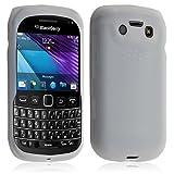 Seluxion - Housse coque étui en silicone pour BlackBerry Bold 9790 couleur blanc