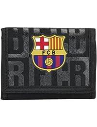 Billetera, Cartera Oficial F.C. Barcelona 16/17 color Negro