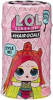 L.O.L. Surprise! 557067 Hairgoals Doll Series 5-2A Spelset med Docka, Flerfärgad