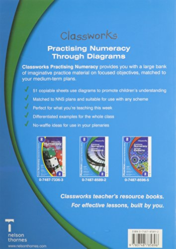 Classworks Number Practice Through Diagrams Year 2.: Practising Numeracy Through Diagrams Year 2