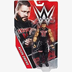 WWE BASE SERIE 73 Action Figure - Kevin Owens ' The Prize FIGTHER' MAGLIETTA ABBIGLIAMENTO