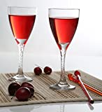 #7: Pasabahce Twist Red Wine Glass, 205 ml,Set of 6