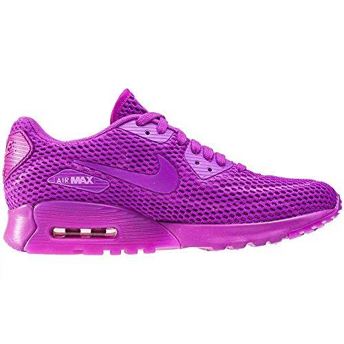 Nike W Air Max 90 Ultra Br, Baskets Femme, Noir (Schwarz) Violet
