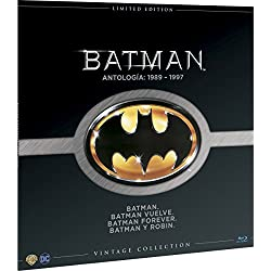 Batman Colección Vintage (Funda Vinilo) Blu-Ray [Blu-ray]