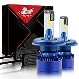 Win Power H4/HS1 Scheinwerferlampe mit Fernlicht/Abblendlicht P43t Vorderlicht...